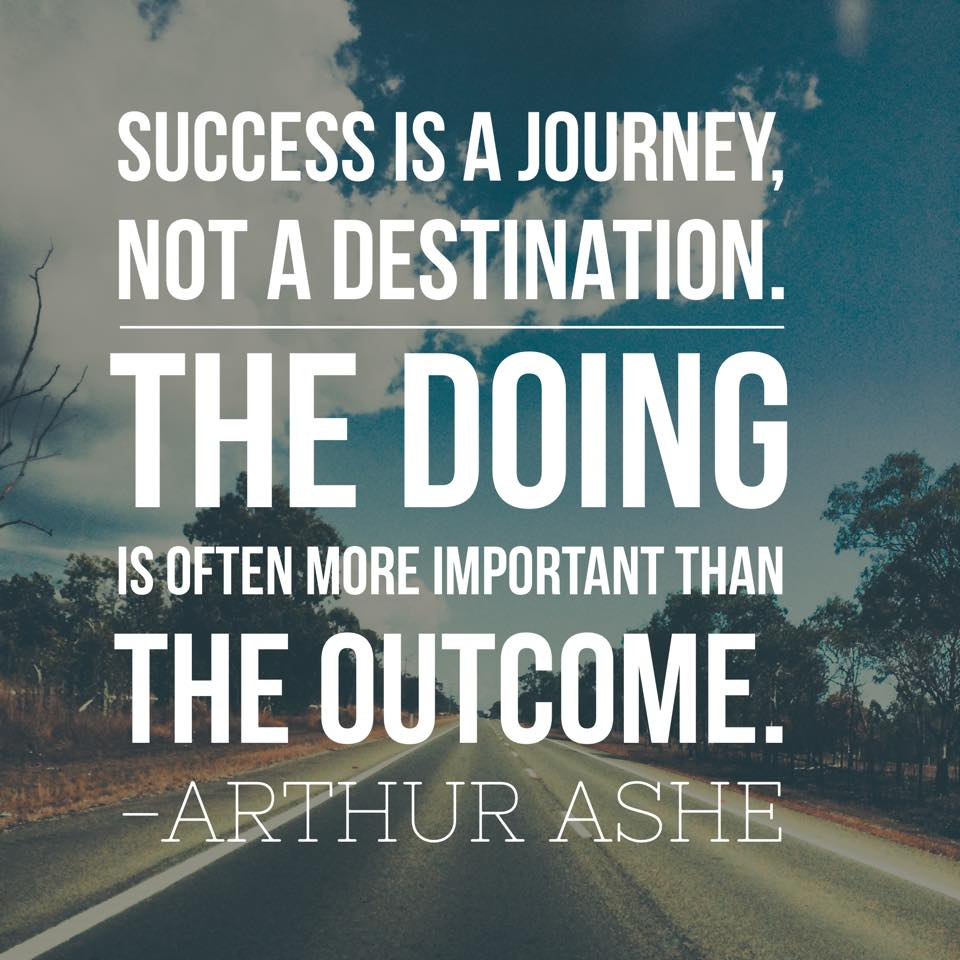 Inspirational Picture Quote Success Is A Journey Not A Destination